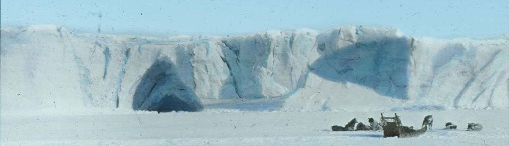 A Glimmer on the Polar Sea