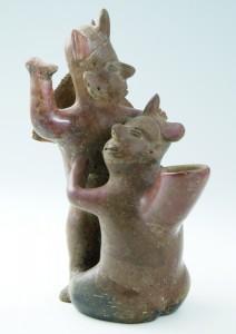 Two Fighting Shaman, 100 BCE–100