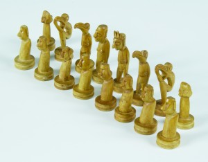 Easter Island Chess Set, first half of the 20th century