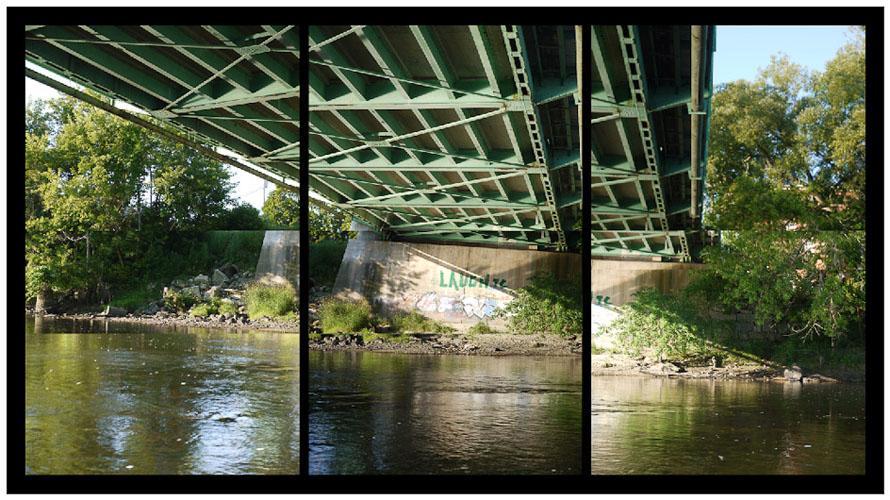 Under the Auburn/Lewiston Bridge, 2010