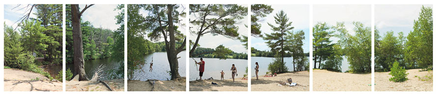 Gulf Island Pond (swimmers), 2008