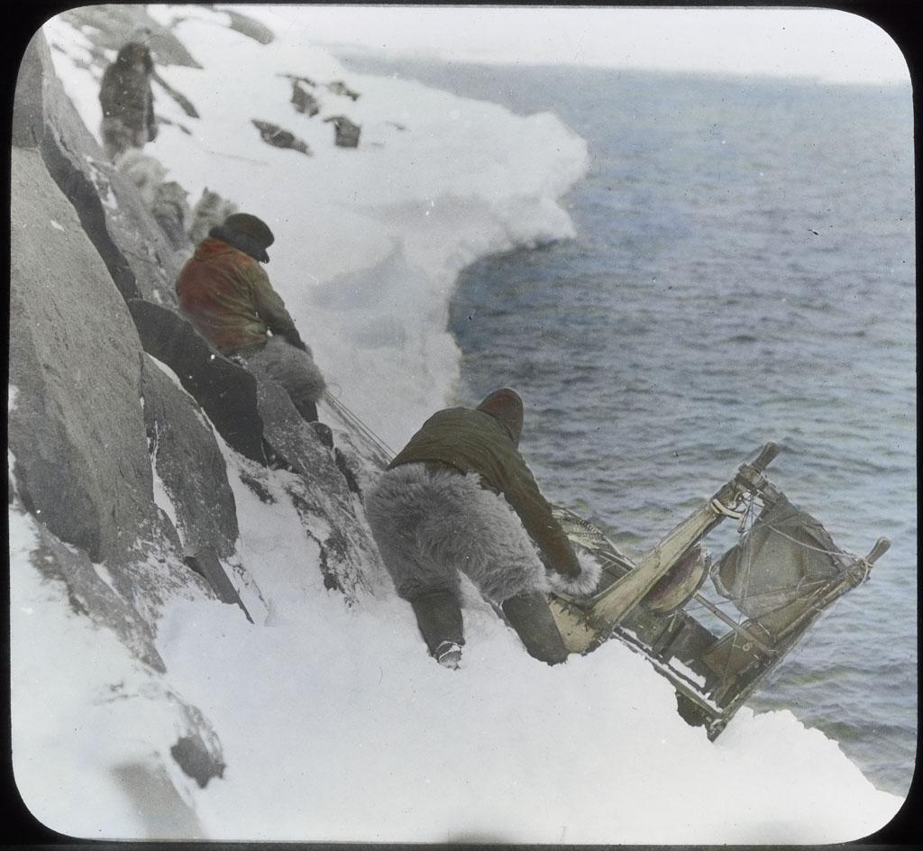 Eskimo, Sledge, Icefoot