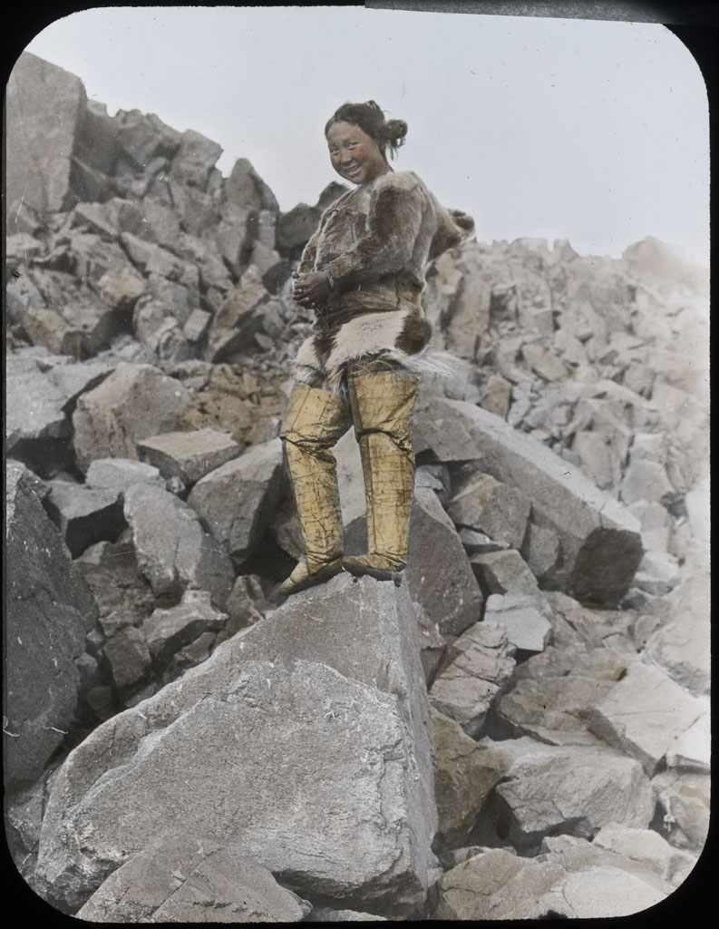 Ah-kah-ting-wah, Northwest Greenland woman