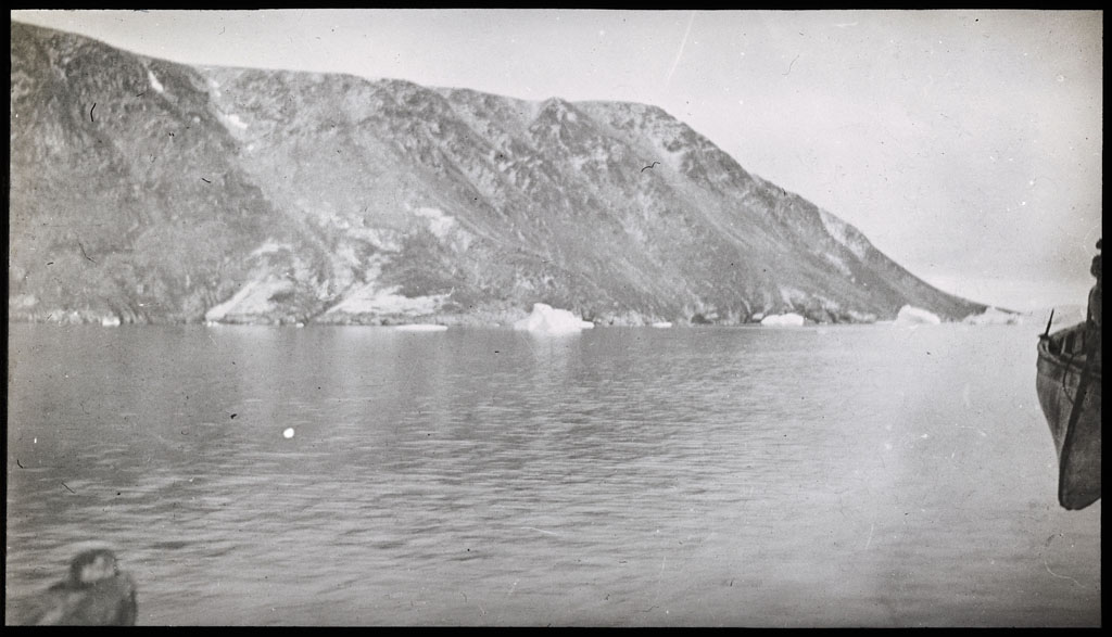 Donald Baxter MacMillan; Cape Peary [Cape Parry?]; 1921 - 1922; image; silver gelatin on glass; 10.16 cm x 8.26 cm x 0.64 cm (4 in. x 3 1/4 in. x 1/4 in.); TGM; North America