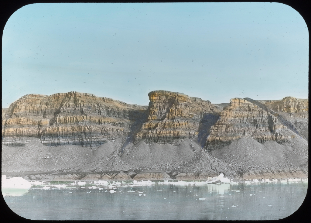 Stratified Cliffs, North Greenland