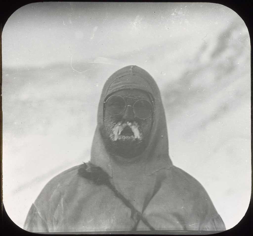 Donald Baxter MacMillan; Dr. Harrison J. Hunt, Crocker Land Expedition; 1913-1917; image; silver gelatin on glass; 10.16 cm x 8.26 cm x 0.64 cm (4 in. x 3 1/4 in. x 1/4 in.); TGM; North America