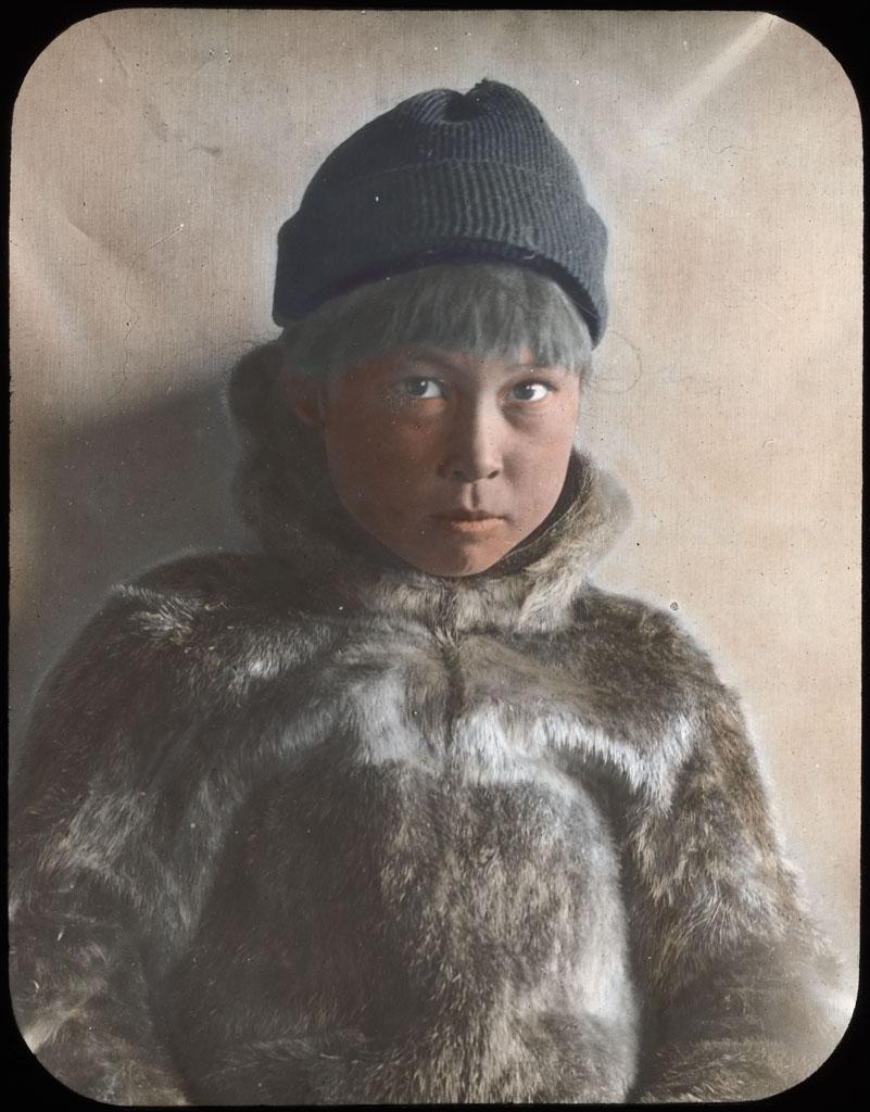 Donald Baxter MacMillan; Kadah; 1913-1917; image; silver gelatin on glass; 10.16 cm x 8.26 cm x 0.64 cm (4 in. x 3 1/4 in. x 1/4 in.); TGM; North America