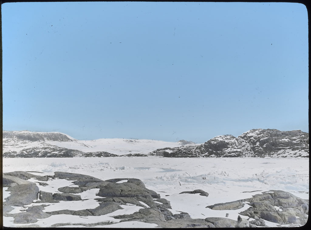 Donald Baxter MacMillan; Islands Off Etah; 1913-1917; image; silver gelatin on glass; 10.16 cm x 8.26 cm x 0.64 cm (4 in. x 3 1/4 in. x 1/4 in.); TGM; North AmericaDonald Baxter MacMillan; Islands Off Etah; 1913-1917; image; silver gelatin on glass; 10.16 cm x 8.26 cm x 0.64 cm (4 in. x 3 1/4 in. x 1/4 in.); TGM; North America