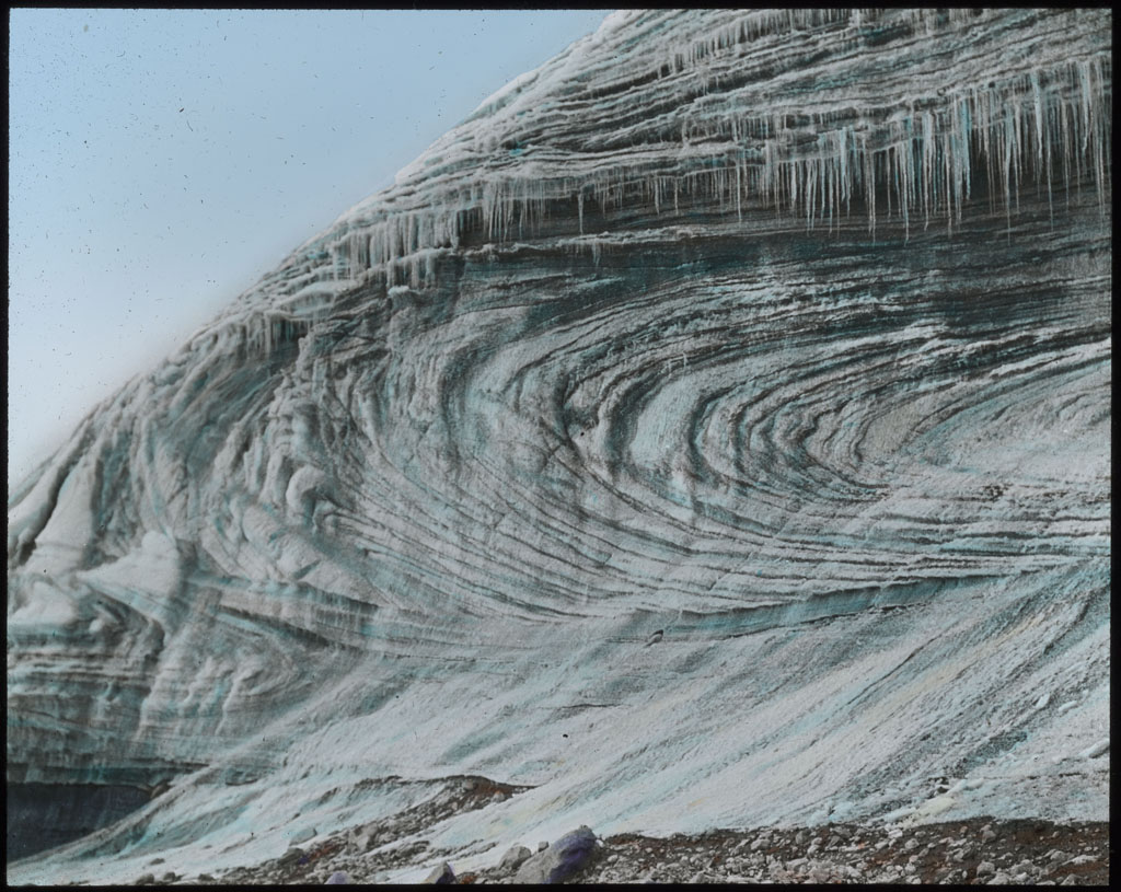 Movement of Glacier at Etah