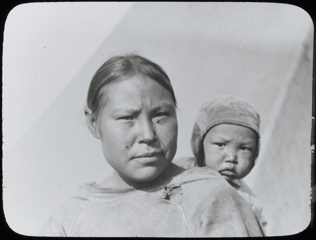 Mother and Baby, Baffin Island