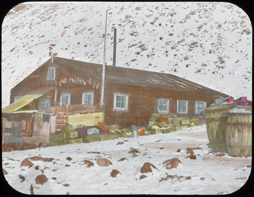 Borup Lodge at Etah. North Greenland