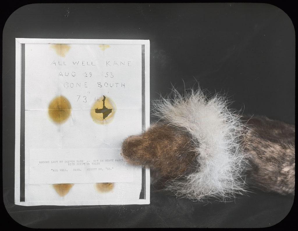 Donald Baxter MacMillan; Kane Record; 1913-1917; image; silver gelatin on glass; 10.16 cm x 8.26 cm x 0.64 cm (4 in. x 3 1/4 in. x 1/4 in.); TGM; North America