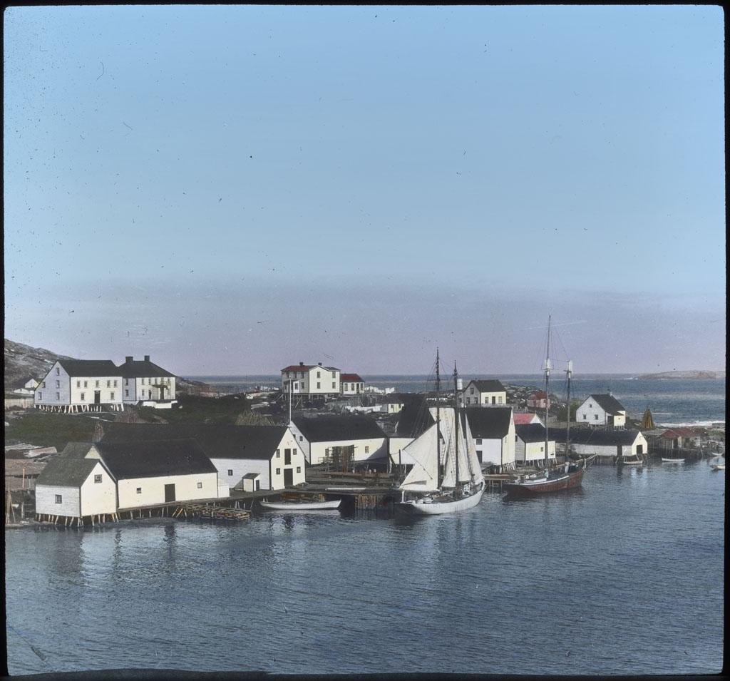 Bowdoin at Dock, Battle Harbor, Labrador