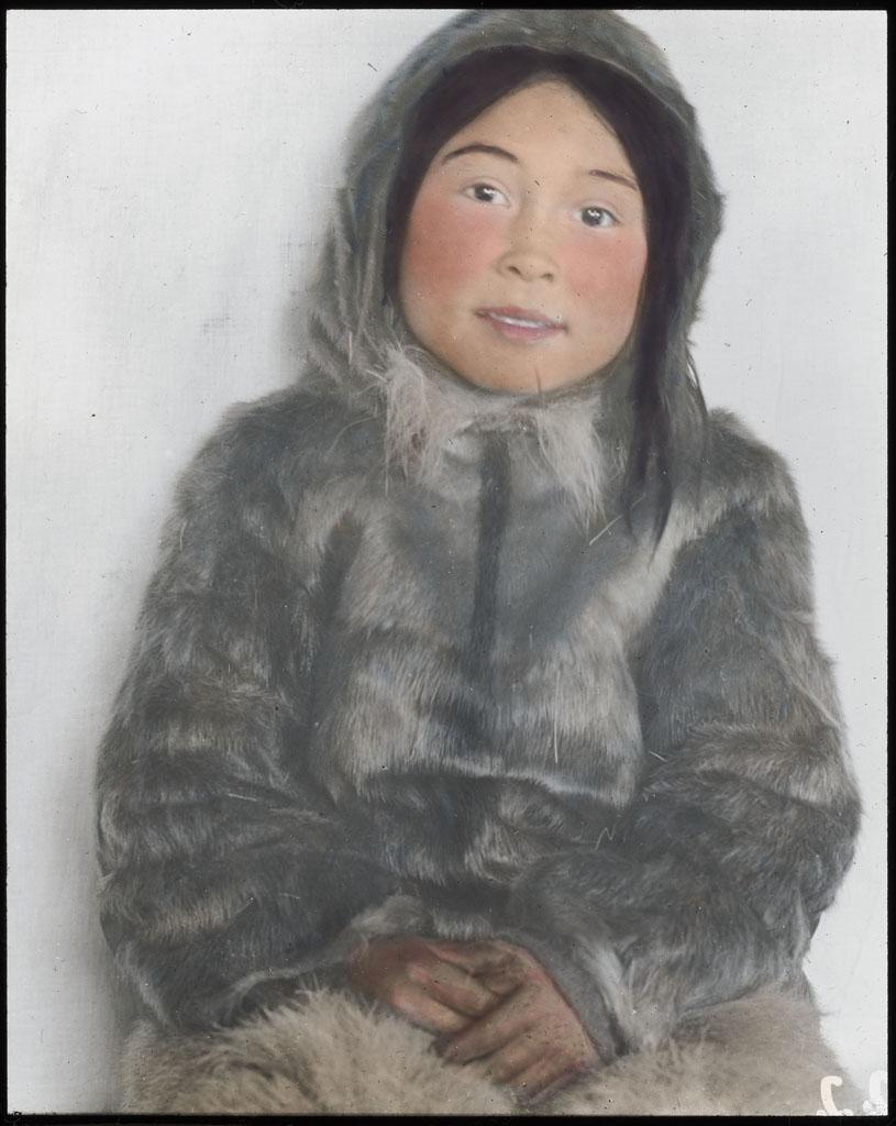 Donald Baxter MacMillan; Kad-ah, No. Greenland boy; 1913-1917; image; silver gelatin on glass; 10.16 cm x 8.26 cm x 0.64 cm (4 in. x 3 1/4 in. x 1/4 in.); TGM; North America