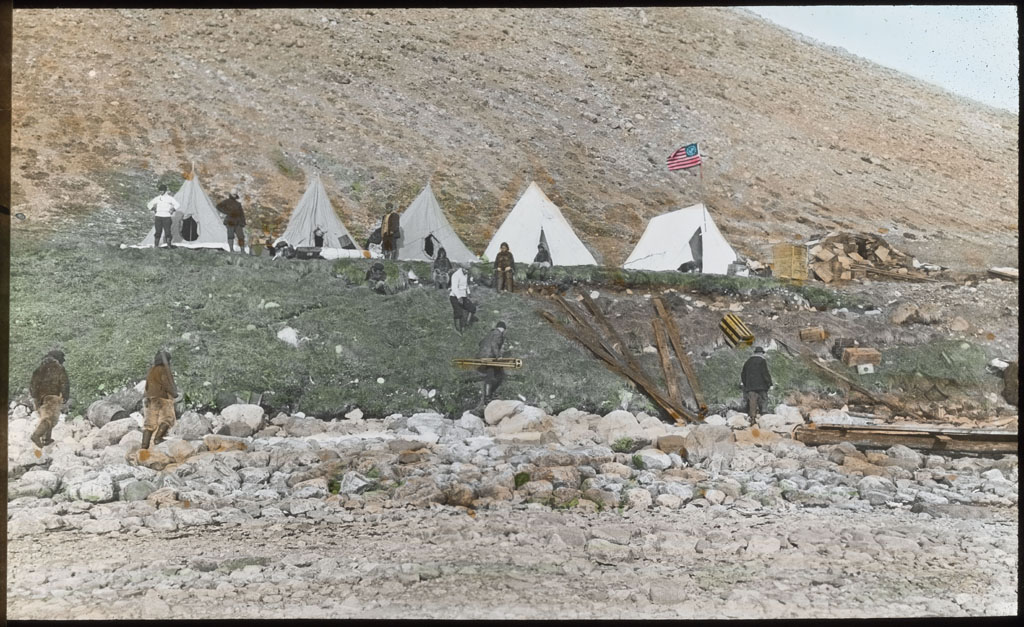 Tents at Etah