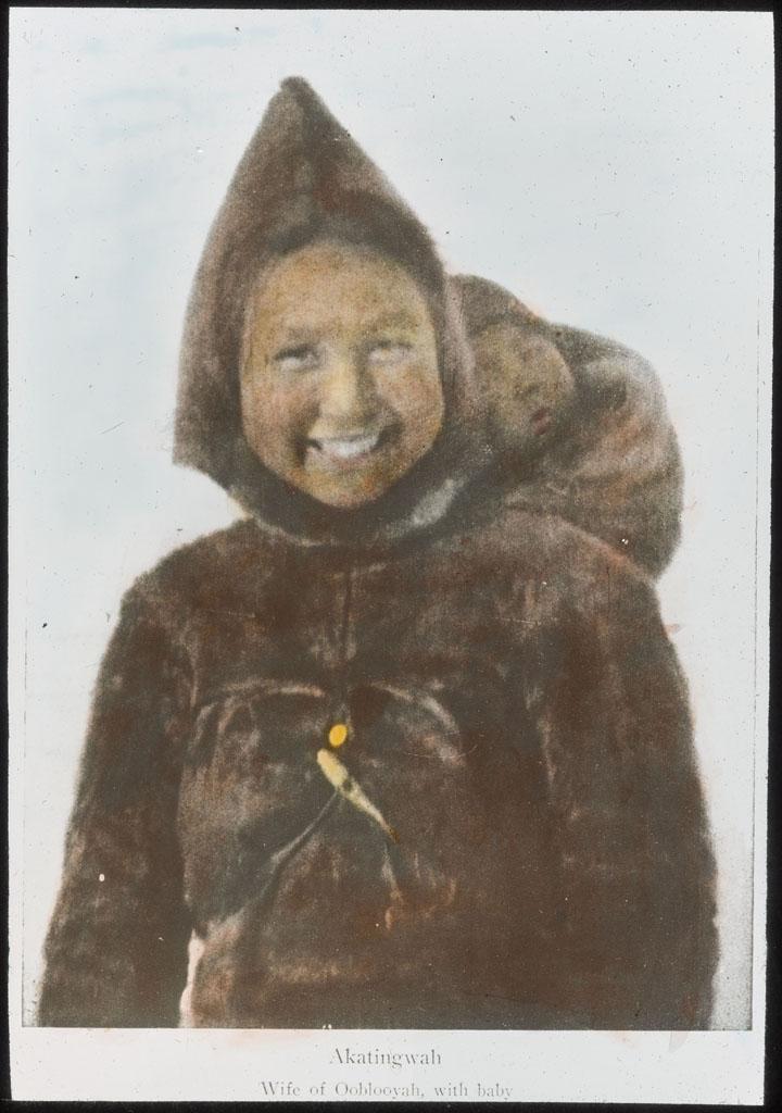 Donald Baxter MacMillan; Ahkatingwah; 1913-1917; image; silver gelatin on glass; 10.16 cm x 8.26 cm x 0.64 cm (4 in. x 3 1/4 in. x 1/4 in.); TGM; North America
