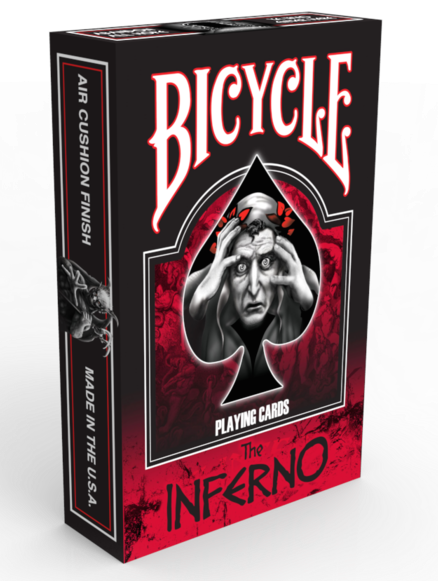 Bicycle Dante's Inferno