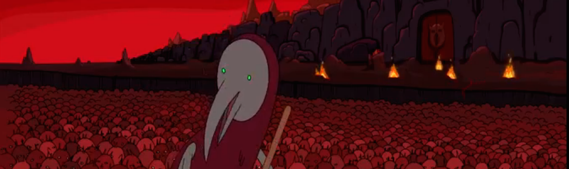 <em>Adventure Time</em>, &#8220;Return to the Nightosphere&#8221; (2012)