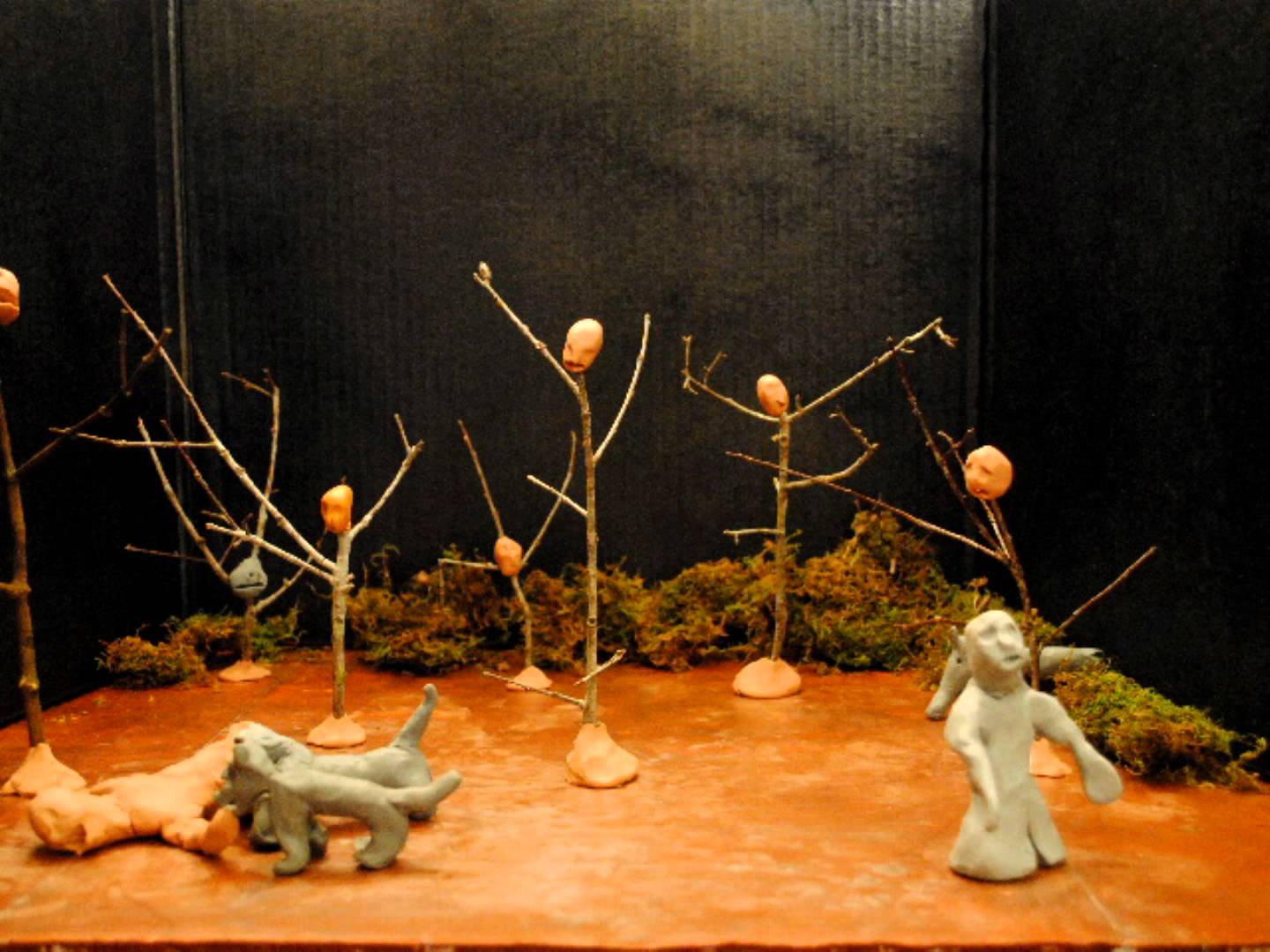 Dante's-Inferno-Claymation-Wood-Suicides-Squanderers