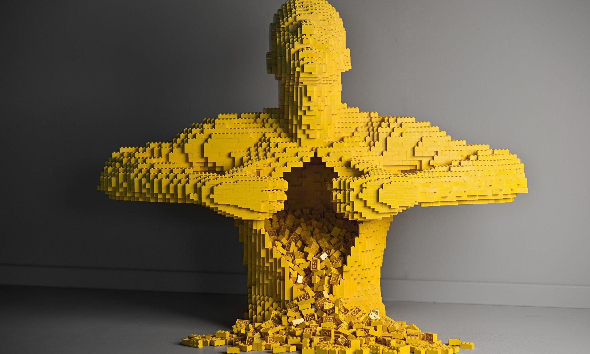 Nathan Sawaya Lego Sowers Of Discord Dante Today