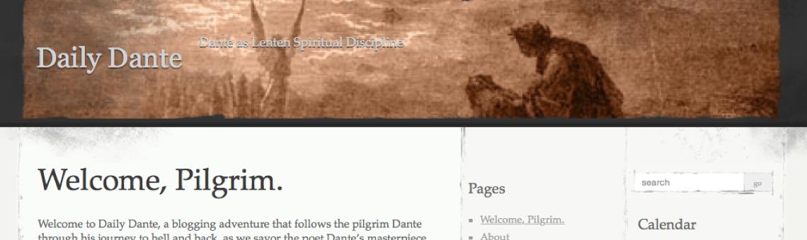 <em>Daily Dante</em> Blog