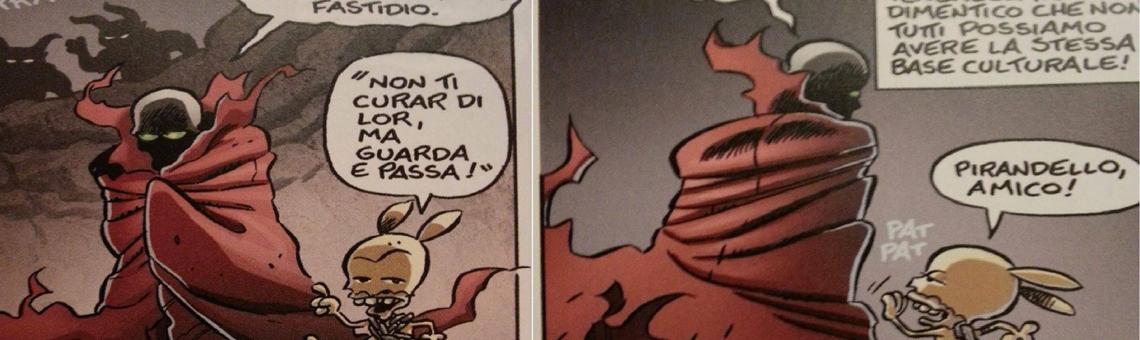 "Leo Ortolani, ""Rat-Man"" Comic Strip"