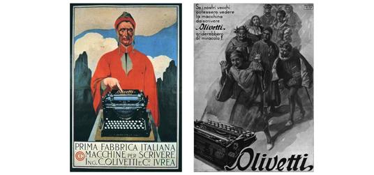 olivetti-dante-pubblicita-pop-kitsch