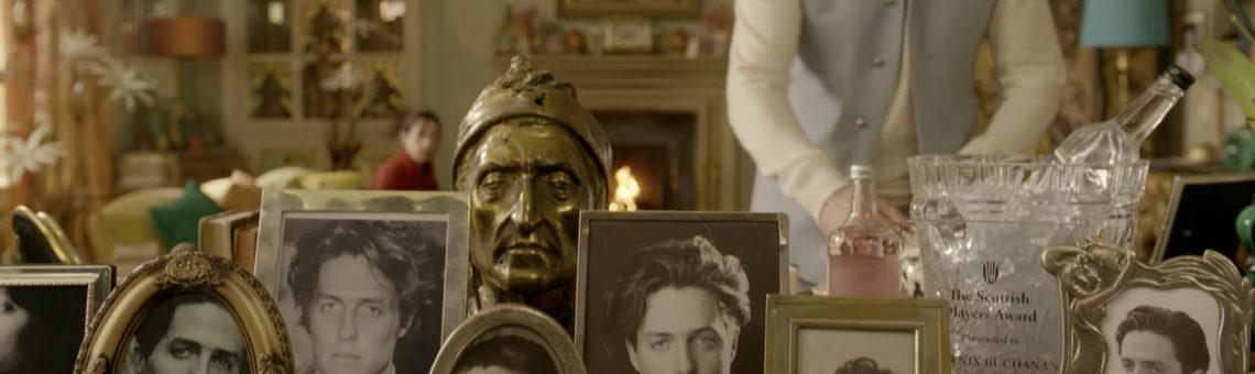 Dante and Hugh Grant