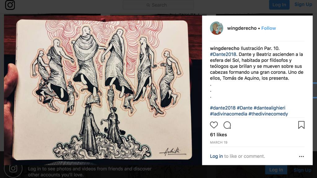 Wingderecho-Leonardo-Achilli-Heaven-Sun-Dante-Paradiso
