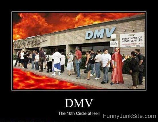 Dmv-The-Tenth-Circle-Of-Hell