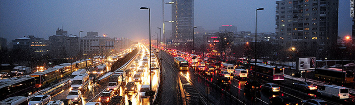 The Tenth Circle: Istanbul Traffic