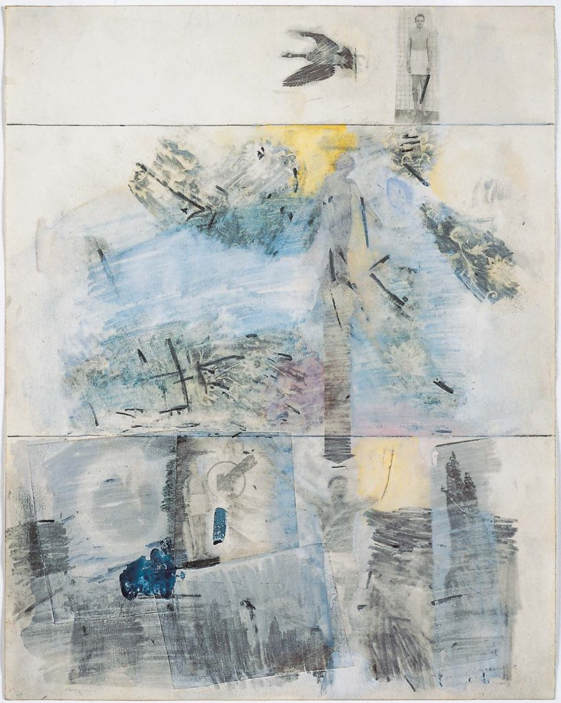 Robert-Rauschenberg-Canto-II-The-Descent-Dantes-Inferno