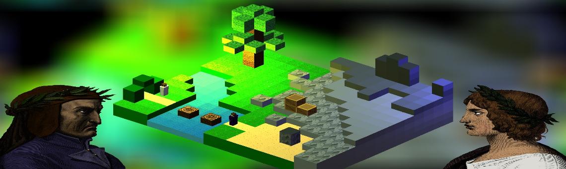 <em>Inferno</em> Puzzle Game (Blue Vertex, 2021)