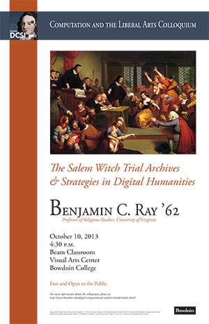 The Salem Witch Trial Archives and Strategies in Digital Humanities