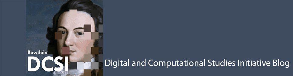 Digital and Computational Studies Initiative Blog