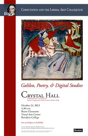 Lecture: Galileo, Poetry, and Digital Studies