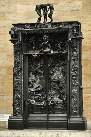"""Rodin, """"Gates of Hell,"""" Zurich, Kunsthaus."""