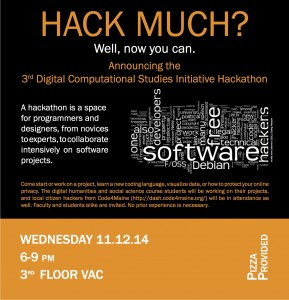 Hackathon November 2014 e-mail