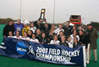 2007 - Women's Field Hockey team 1st Bowdoin team to win NCAA National Championship
