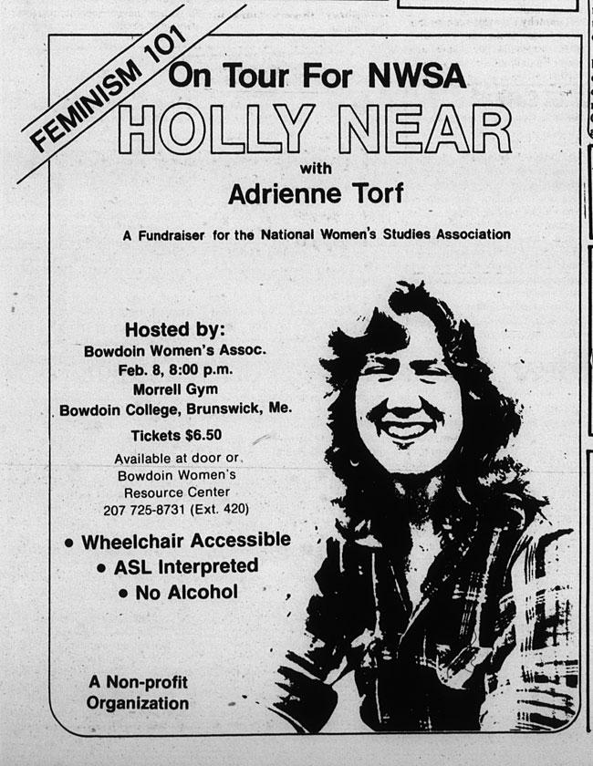 CS65.2 Orient 1981 february 6 - Holly Near at Bowdoin