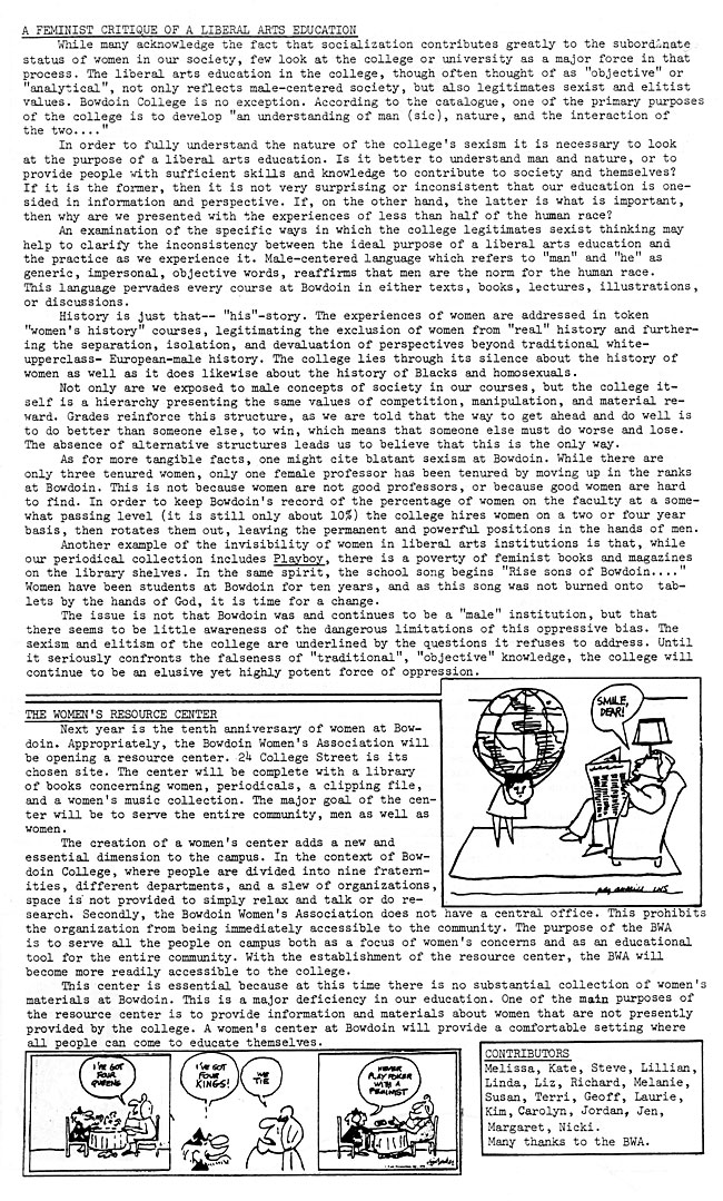 CS62 Page 4 - To The Root: Feminist Issue