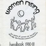 CS63 Page 1 - Bowdoin Women's Association Handbook