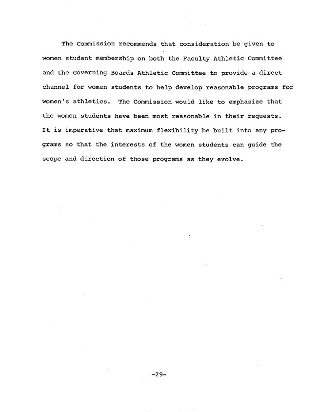 JH56 Page 3 - Excerpt from the Report of the President's Commission on Athletics