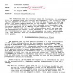 SW32 - Page 1 - Memorandum to President Howell