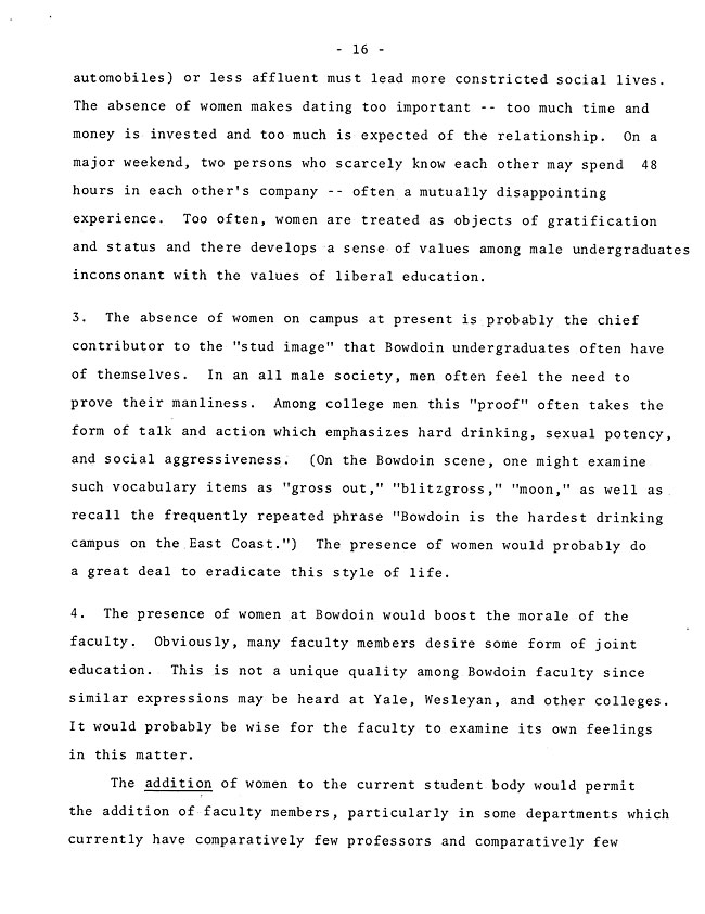 The Annual Report of the Student Life Committee 1968 (excerpt: coordinate colleges) - sb-8-page-4