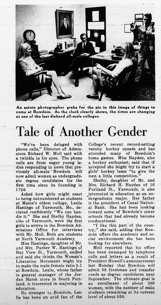"""GB16 - """"Tale of Another Gender"""" The Bowdoin Orient"""