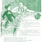 "GB3 - Poem in the 1890 Bugle, ""Bowdoin Coeds"""