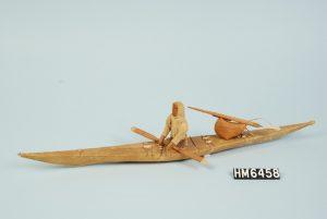 hudson museum kayak inuit art