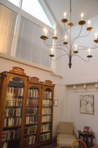 Reading room of MWWC.