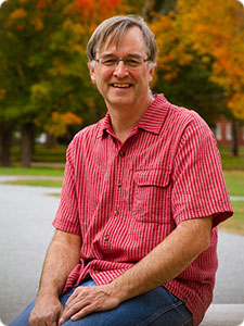Dave Carlon, Director of the Bowdoin Marine Laboratory